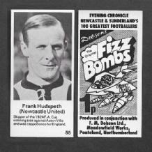 Newcastle United Frank Hudspeth 25